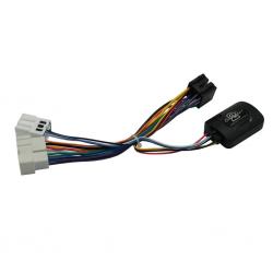 Interface commandes au volant - Nissan X-Trail T30, Almera N16, Primera P12 et Terrano WD21 avec connecteur 8 et 16 pin