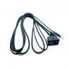 Prise d'intégration USB + AUX Carrée
