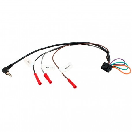 Câble de liaison interface commande au volant / autoradio