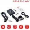 MULTI-LINK VOLKSWAGEN connecteur Quadlock - Interface USB MP3, Kit mains libres, Streaming audio Bluetooth, Auxiliaire