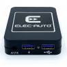 MULTI-LINK BMW connecteur Quadlock - Interface USB MP3, Kit mains libres, Streaming audio Bluetooth, Auxiliaire