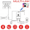 MULTI-LINK BMW connecteur Chargeur CD - Interface USB MP3, Kit mains libres, Streaming audio Bluetooth, Auxiliaire