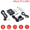 MULTI-LINK HONDA - Interface USB MP3, Kit mains libres, Streaming audio Bluetooth, Auxiliaire
