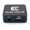 USB-LINK BMW connecteur 17 pins ronds - Interface USB MP3 et Auxiliaire