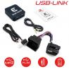 USB-LINK BMW connecteur Quadlock - Interface USB MP3 et Auxiliaire