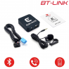 BT-LINK PEUGEOT connecteur mini ISO - Interface Kit mains libres, Streaming audio Bluetooth
