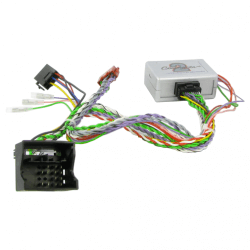 Interface commandes au volant Peugeot 207, 307, 308, 407, 607, 807, 3008, 5008 , Partner - CAN BUS + ODB + radar de recul