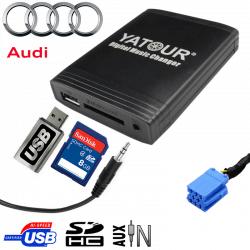 Interface USB MP3 AUDI - connecteur 8pin
