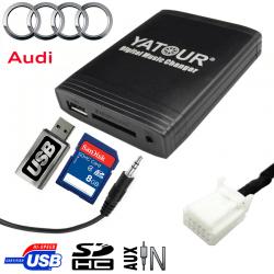 Interface USB MP3 AUDI - connecteur 12pin