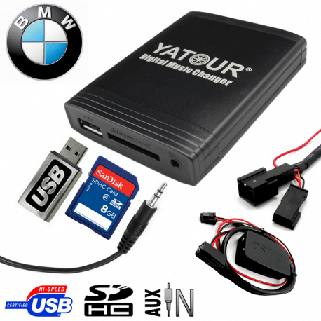 Interface USB MP3 BMW DSP - chargeur CD + DSP