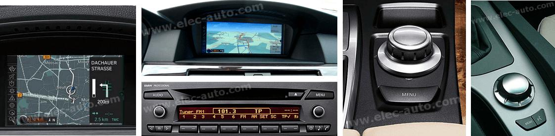 Autoradios BMW iDrive et professional