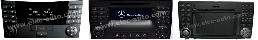 Autoradios Mercedes Audio 20, Audio 50, Comand