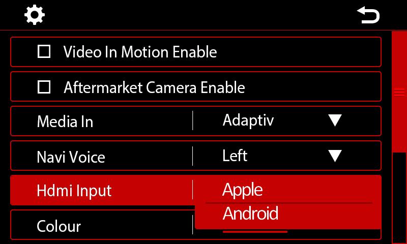 Entrée HDMI 2