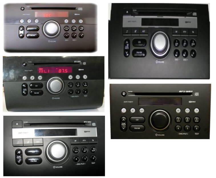 Autoradios compatibles Suzuki 14pin