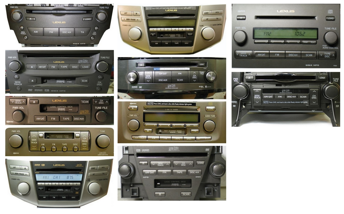 Autoradios compatibles LEXUS 2