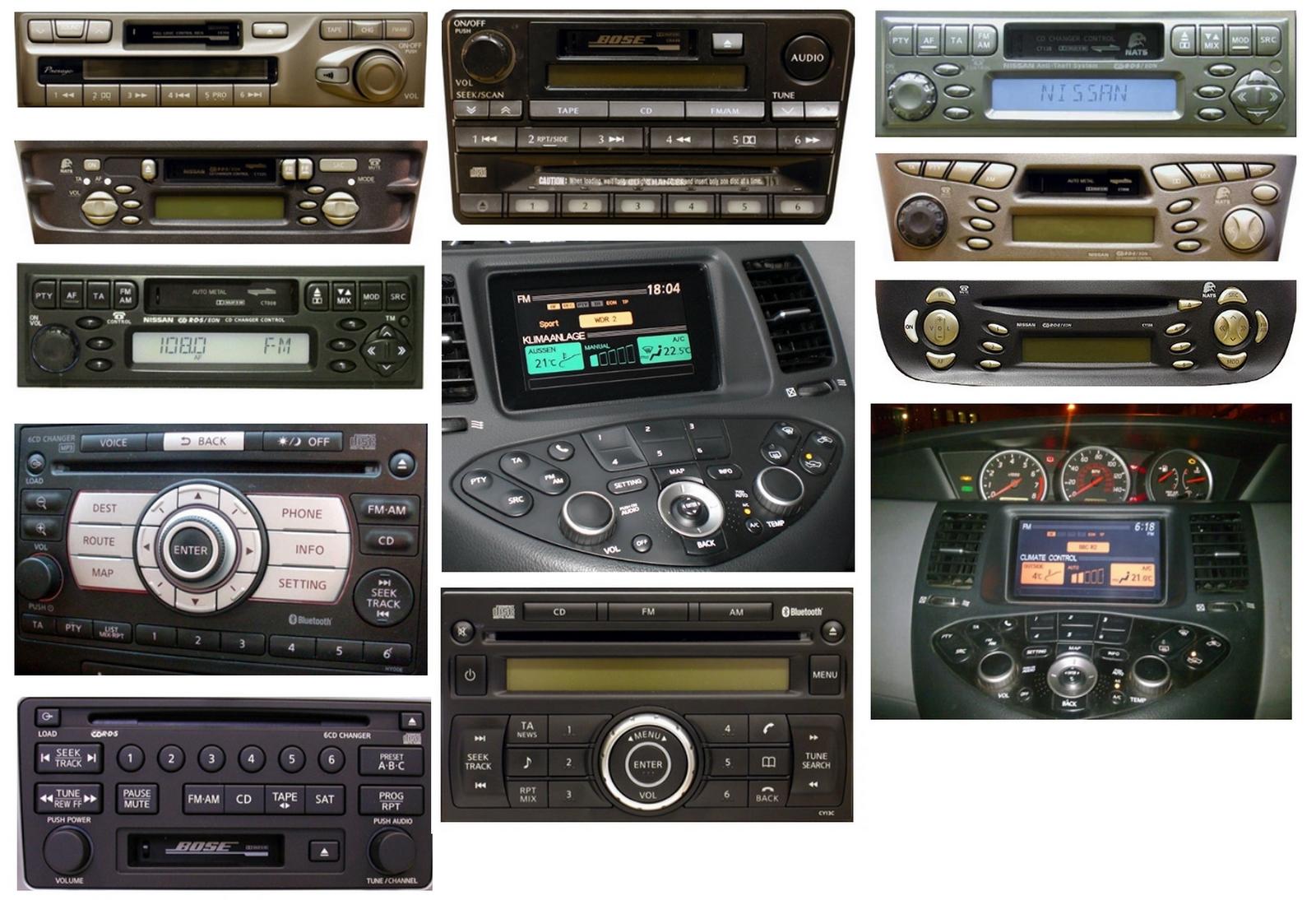 Autoradios compatibles Nissan