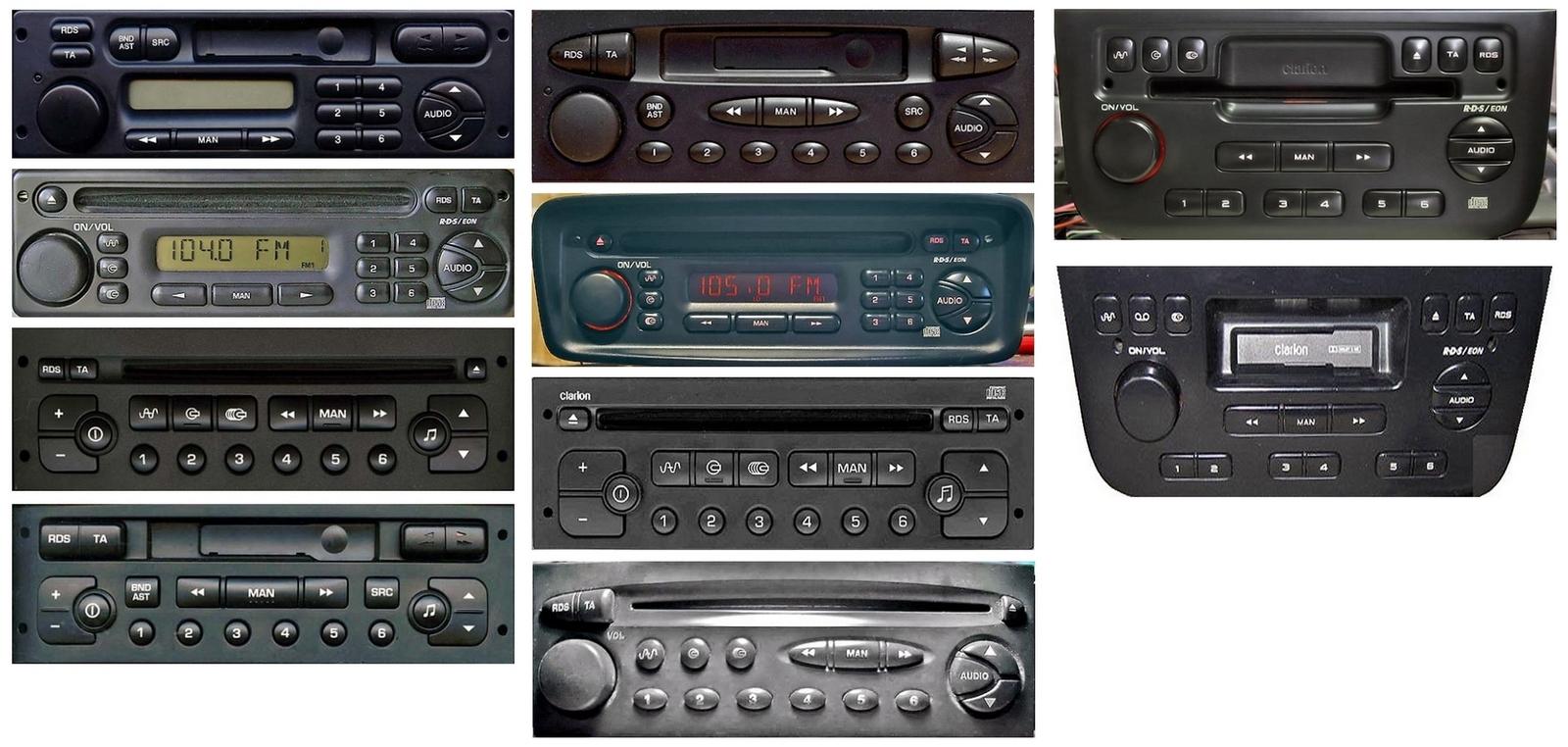 Autoradios compatibles Peugeot VAN