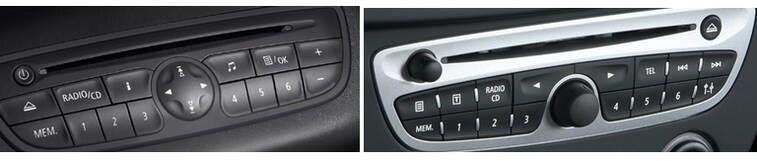 Autoradios compatibles Renault Quadlock