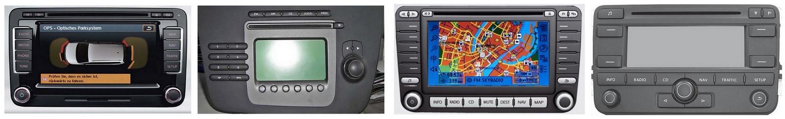 Autoradios compatibles Seat 12pin