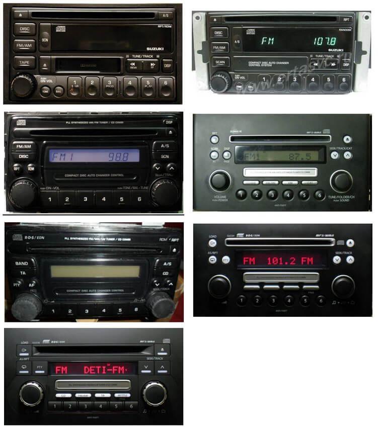 Autoradios compatibles Suzuki Clarion