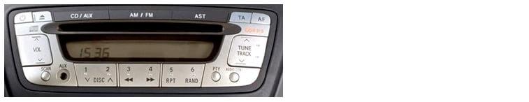 Autoradios compatibles Toyota Aygo