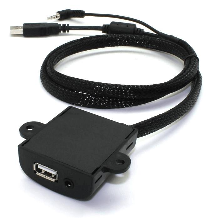 Prise d'intégration Plate USB + Aux